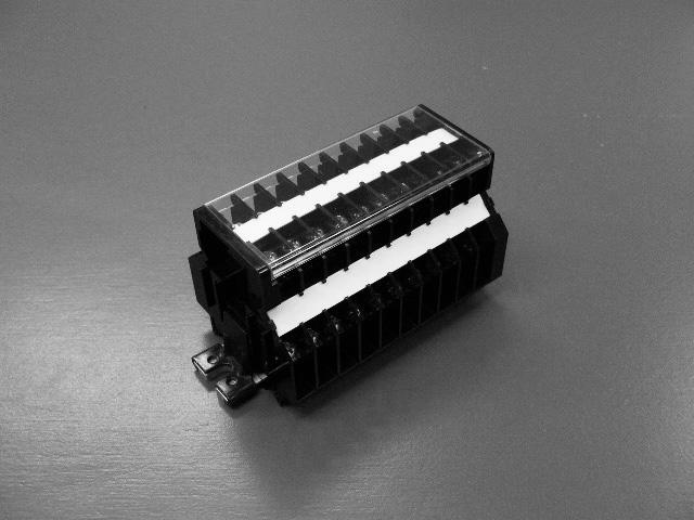 圧接固定組み端子台 FWK-U
